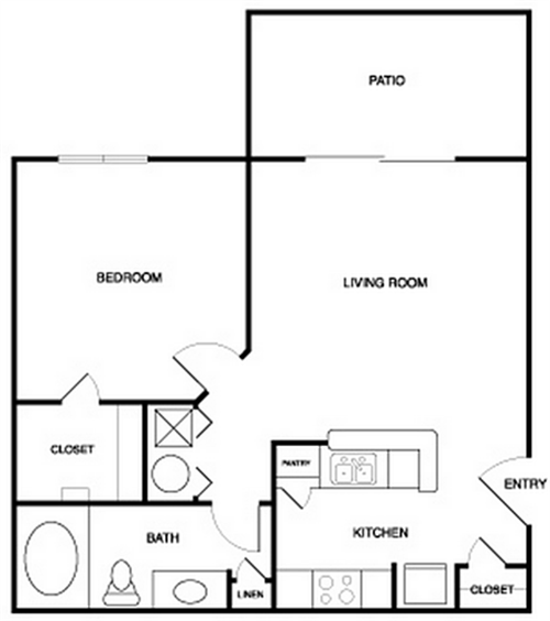 apartment floor plans with dimensions. Square footage and dimensions